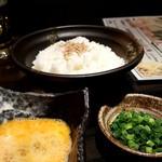 田なか屋 - もつ鍋 雑炊セット