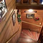 ミカドコーヒー - 階段