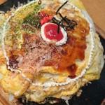 AT THE 21 - モダン焼き1200円