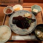 為御菜 - サバみそ定食(白身フライ除く) H28.11