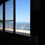 海女の小屋 海上亭 - 内観からの景色