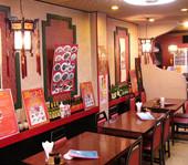 横浜中華街 福養軒 - 1階テーブル席は、御一人でもグループでも気軽にご利用頂けます。