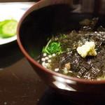 京洛肉料理 いっしん - イチボのお茶漬け