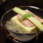 京洛肉料理 いっしん - 塩漬けタンの椀