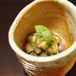 京洛肉料理 いっしん - 秋茄子ととんぶり