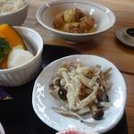 玄米庵 - きのこ料理