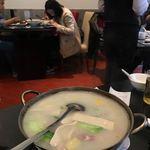 Shanghai Grandmother Restaurant - 鴨と筍と豆腐のスープ 52元(884円)