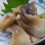 魚清 - 北寄貝の刺身
