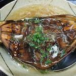 魚清 - 米ナスのカニあんかけ