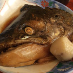 魚市 - 握りすし定食に付いてきたあら炊き