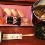 魚市 - 握りすし定食