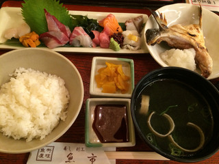 魚市 - お任せお造り定食
