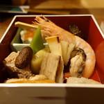 季節料理 薗 - ☆お付き出しは満載BOXです(●^o^●)☆