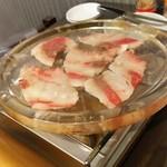 かきと水晶焼き 空 - 1611 空 水晶焼 コーネ@970円