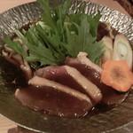 米子駅前 四季庵 - 合鴨冶部煮鍋