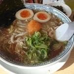 丸源ラーメン - 肉そば煮玉子トッピング