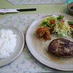 手づくりのレストラン 花の木 - 和風ハンバーグ