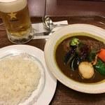 キタカレー - 「スープカツカレー」1,490円