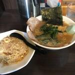 59213238 - チャーシュー麺と半チャーハン
