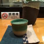 重寿司 - カウンター席は禁煙です