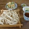 手打うどん勝負澤 - 料理写真:天ぷらうどん   もり