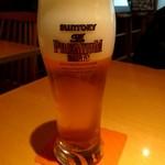 マウンテンバーガー - ドリンク写真:生ビール