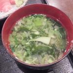 巣鴨ときわ食堂 - 味噌汁