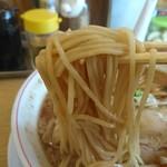 完熟ラーメン 本丸 - 麺。リフト(^-^)/
