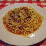 トレンタ - 牛挽肉入りラグーのスパゲッティ