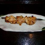 168(いろは) - 地鶏もも焼き 180円
