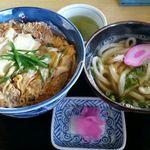 59220786 - 特上カツ丼(ミニうどん付き)1050円