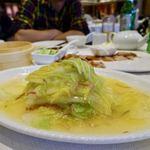 燕雲楼 広西北路店 - 娃娃菜スープ 25元(425円)