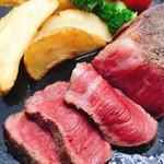 塊肉ステーキ&ワイン Gravy'sFactory - ハラミ 230g