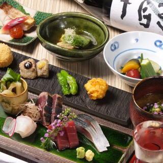 存分に味わう和食の醍醐味~桜コース3,500円~