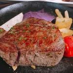 塊肉ステーキ&ワイン Gravy'sFactory - 王様フィレ肉 200g