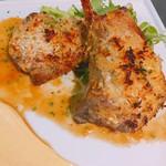 塊肉ステーキ&ワイン Gravy'sFactory - ラムチョップ  ディジョンマスタード