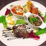 塊肉ステーキ&ワイン Gravy'sFactory - 前菜盛り合わせ Mサイズ