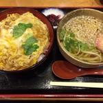 お食事処 福松 - 2016.11.19  玉子丼とミニうどん
