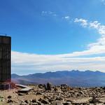 TOP's 360° - 車山山頂(1925m)。気象レーダーと八ヶ岳と富士山(2016.10月)