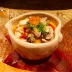 59224007 - いろは島牡蠣の茶碗蒸し