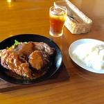 小樽 - 料理写真:黄金肉セットだ!