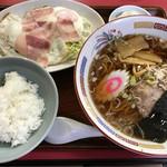 りゅうちゃん亭 - 料理写真:ラーメンセット