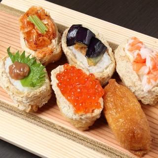 彩りあざやかいなり寿司