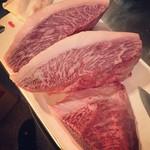 Bar dio - 鹿児島県産 黒毛和牛のイチボステーキ  ¥3000