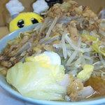 ラーメン富士丸 - 富士丸・ラーメン野菜ちょいマシ