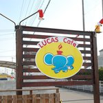 LUCAS cafe - 看板