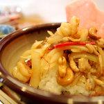 LUCAS cafe - 鶏肉と海老とカシューナッツの炒め物
