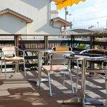 LUCAS cafe - 天気がよければテラス席もあります