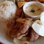 アチャカフェ - 柔らかく美味しいお肉でした。
