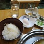 まつや - 雑炊セット(中、250円)